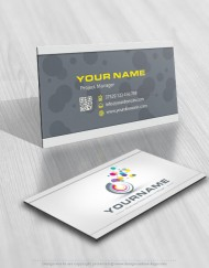 Buy online Abstract Logo free card design