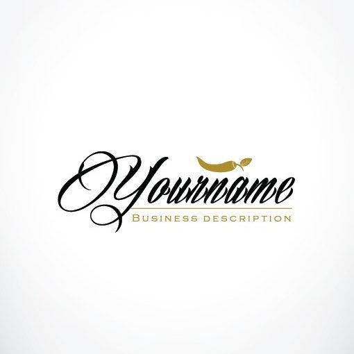Online Restaurant Logo + FREE Business Card