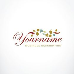 Online catering Logo FREE Business Card