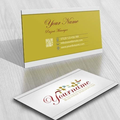 Exclusive Design: Online catering Logo FREE Business Card