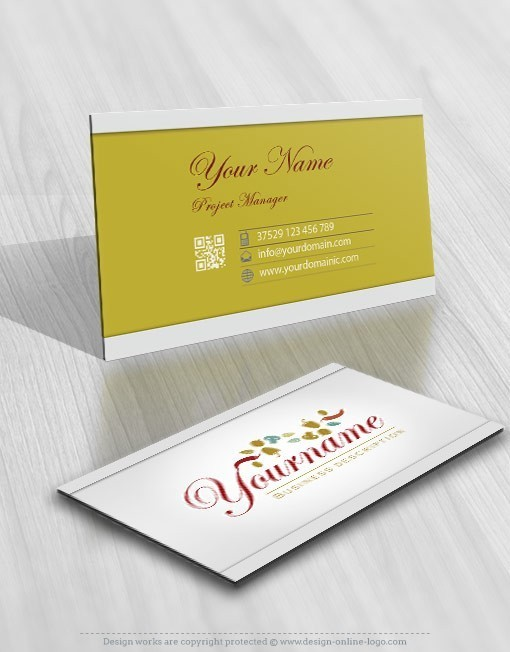Online catering logo free business card exclusive design online catering logo free business card reheart Choice Image