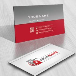 Buy Realty Logo template FREE Business Card Design