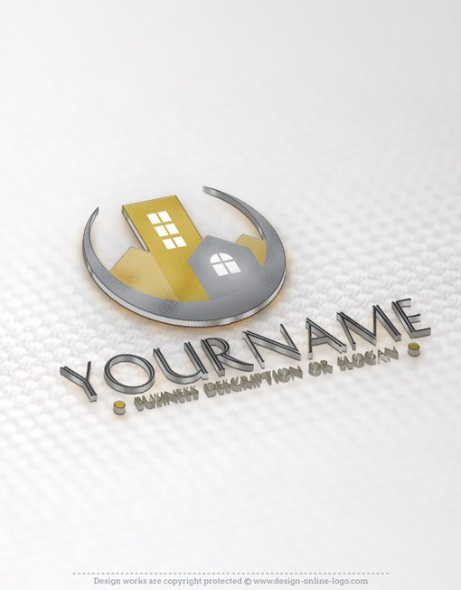 Realty Logo templates REAL-ESTATE-logo
