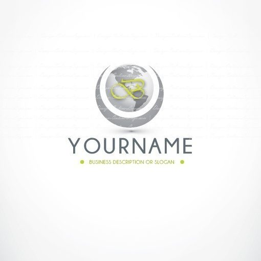Global initials logo + FREE Business Card