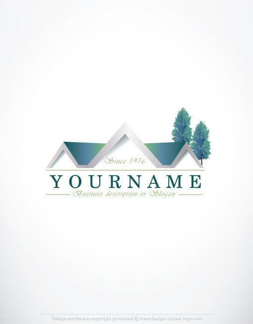 REAL ESTATE logos for sale online FREE Card