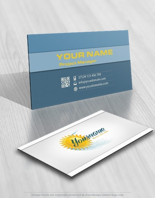 Solar sun energy online logo free business card solar sun energy online logos colourmoves Image collections
