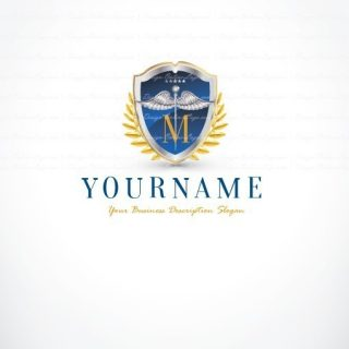 Medical Alphabet online logo + FREE Business Card