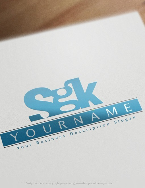 Exclusive Design Alphabet Logo template FREE Business Card