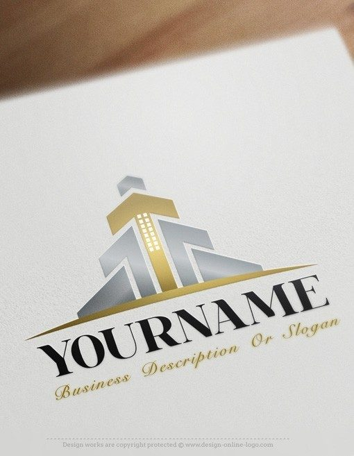 Exclusive design Finance Real Estate logo