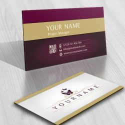 Online Butterflies Logo + FREE Business Card