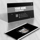 Exclusive Design Buy Speedometer Logo FREE Business Card