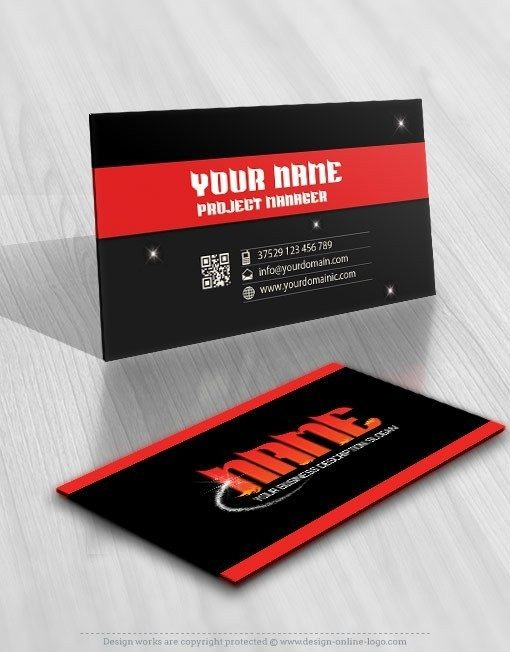 Exclusive Design: Buy online Magic Fire Logo + FREE Business Card
