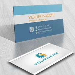 Buy online Industrial Logo + FREE Business Card