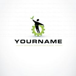 Buy Eco friendly Industrial Logo + FREE Business Card