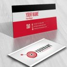 online goal Management logo free card design