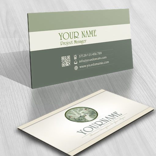 Buy online olive Logo + FREE Business Card