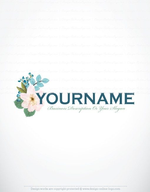 Buy flowers bouquet logo