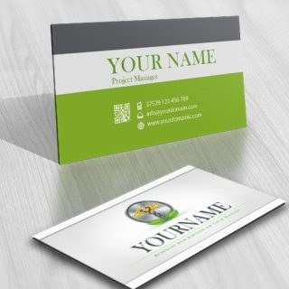 pharma Medical online logo + FREE Business Card