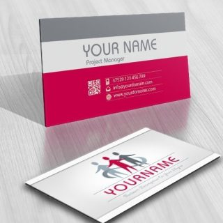 Buy online human Group logo + FREE Business Card