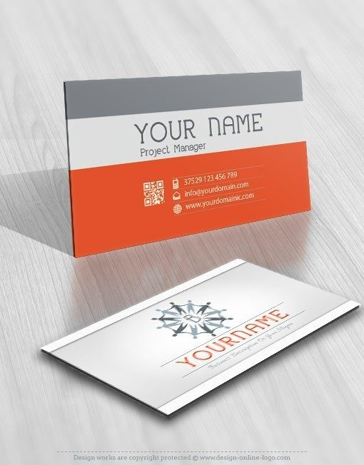 Exclusive Design: Initial Group People logo + FREE Business Card