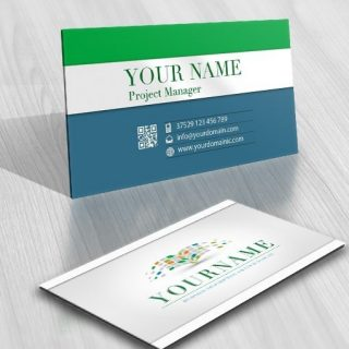 Digital Book online logo + FREE Business Card