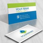 Eco Water hands Logo + FREE Business Card Design