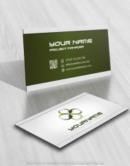 Buy Online 3D Company Logo + FREE Business Card