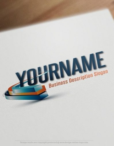 3d-path-logo-template