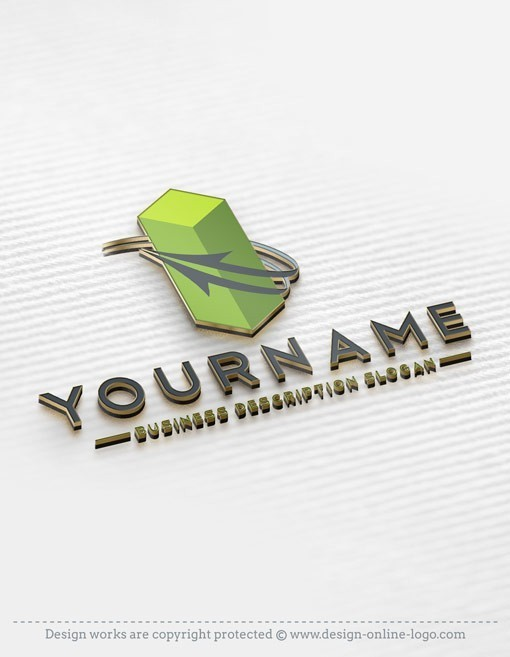 Buy Online 3D Company Logo design templates