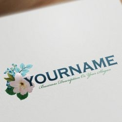 Buy Floral bouquet logo design