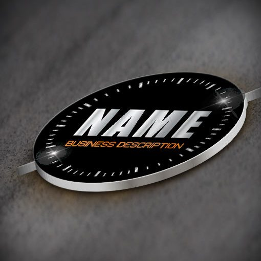 Exclusive Design Buy car Speedometer Logo