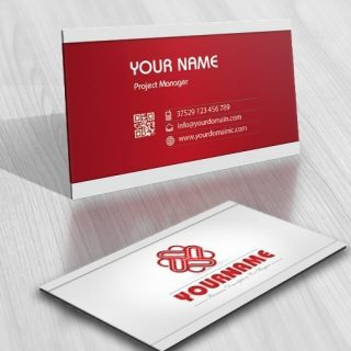 Buy online Hearts Logo template + FREE Business Card