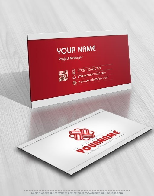 Buy online hearts logo template free business card reheart Image collections