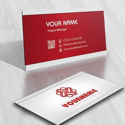 Exclusive Design: Buy Hearts Logo Online + FREE Business Card