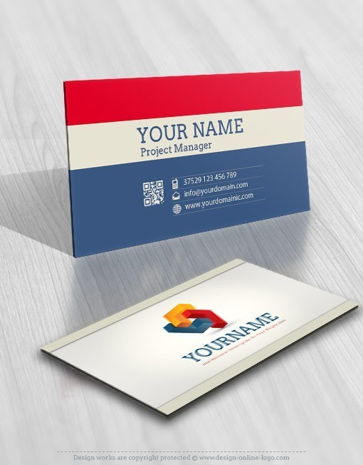 3018-3D-logo-free-business-card-design