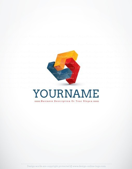 3018-online-3D-Abstract-logo-design-template