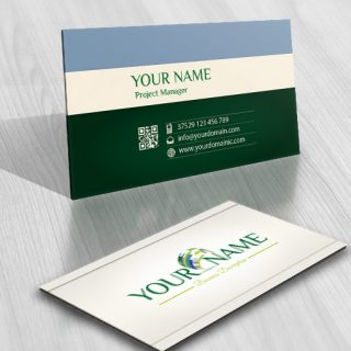 3026-3D-arrows-company-logo-business-card-design
