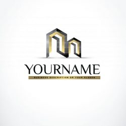 3030-online-Real-Estate-3d-logo-design-templates
