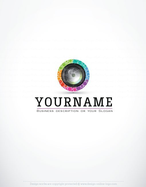 3032-Camera-lens-logo-design-templates