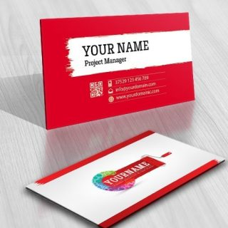 3033-online-paint-brush-logo-business-card-design