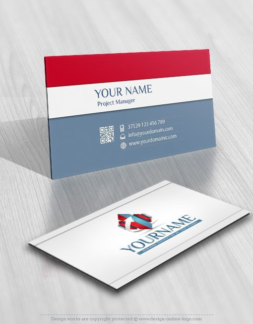 3039-3D-arrow-realty-logo-business-card-design