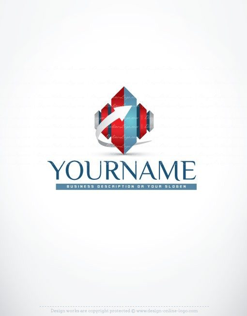3039-online-3D-Real-Estate-logo-design-templates