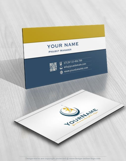 3045-man-star-logo-business-card-design