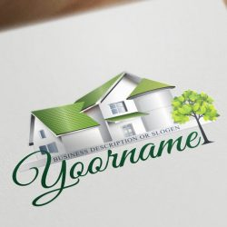 3050-online-Real-Estate-logo-design-template