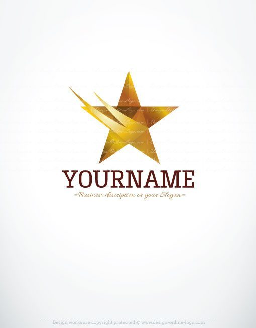 3d star logo free business card 3056 online star logo design templates cheaphphosting Gallery