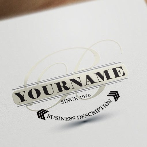 buy-online-Initial-retro-logo-design-templates