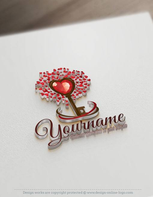 love-tree-logos-for-sale-online