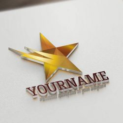 ready-made-star-logo-template