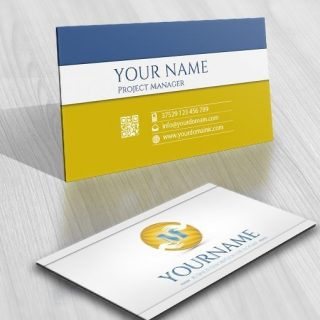 3083-hand-alphabet--logo-business-card-design
