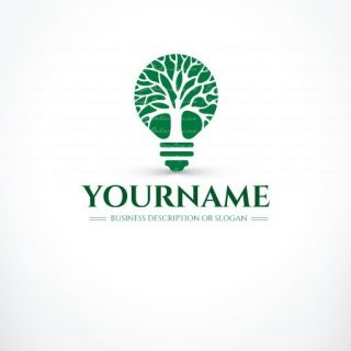 3085-tree-Light-logo-design-templates